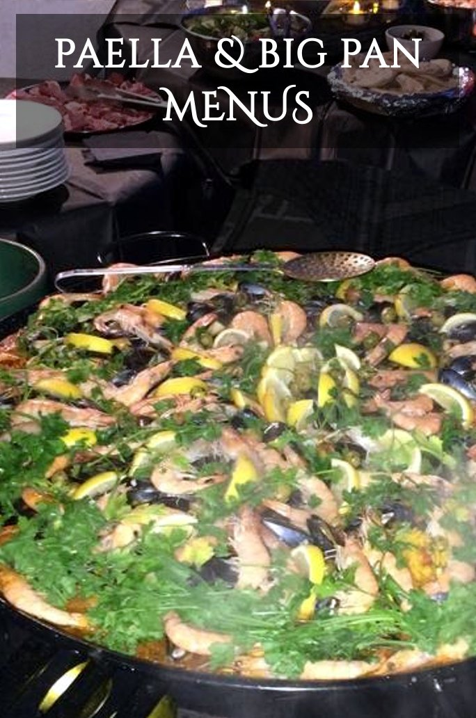 Paella Wedding Catering Yorkshire
